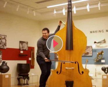 huge instrument