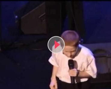 blind autistic boy
