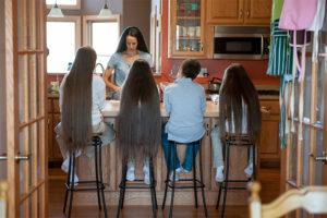 Rapunzel Family