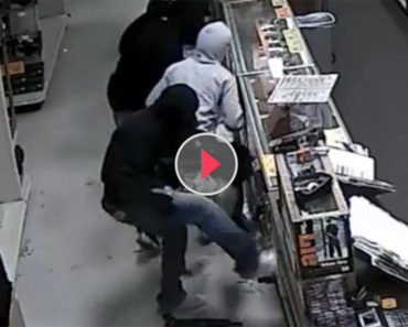 Security Footage Of This Gun Store Break-In