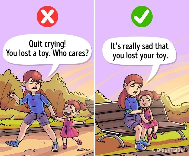 Taking care of children