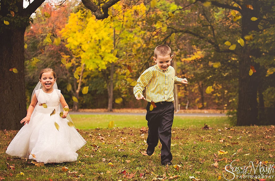 Little girl wants to marry her best friend
