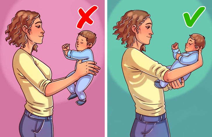 Common Ways to Hold a Child