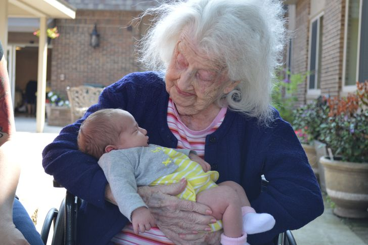 Amazing Bond Of Maternal Grandmother And A Child