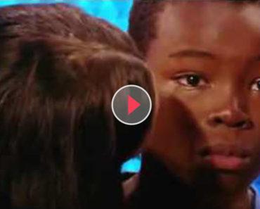 9 year old boy cries