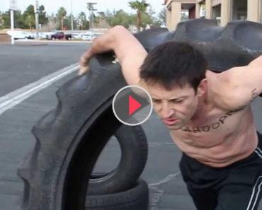 giant tire hula hoop