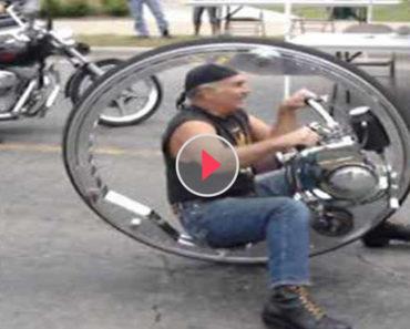 one wheel vehicle